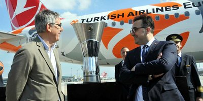 Euroleague kupası Türkiye'ye getirildi