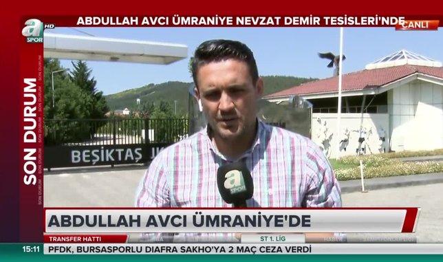 Abdullah Avcı Beşiktaş Nevzat Demir Tesisleri'nde