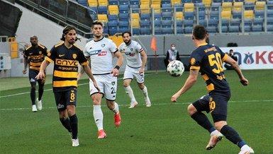 MKE Ankaragücü - Denizlispor: 1-1 (MAÇ SONUCU - ÖZET)