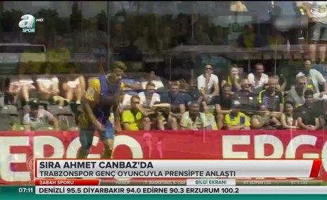 Trabzonspor'da sıra Ahmet Canbaz'da
