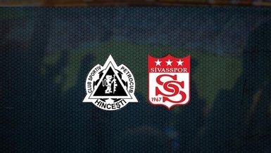 Sivasspor maçı: Petrocub - Sivasspor maçı ne zaman, saat kaçta ve hangi kanalda canlı yayınlanacak?   UEFA Konferans Ligi 2. ön eleme turu