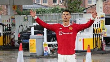 Ronaldo da benzin krizinden nasibini aldı!