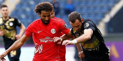 Osmanlıspor ve Antalyaspor yenişemedi