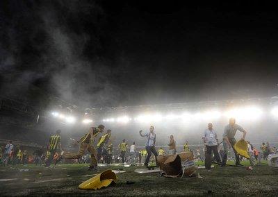 Fenerbahçe - Galatasaray (Maç sonrası olaylar)