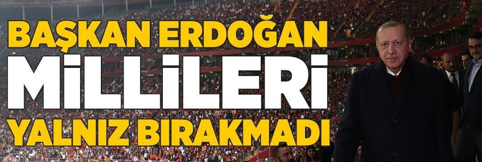 Başkan Erdoğan Türk Telekom Stadı'nda