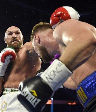Tyson Fury kanlı geçen maçta İsveçli rakibini yendi