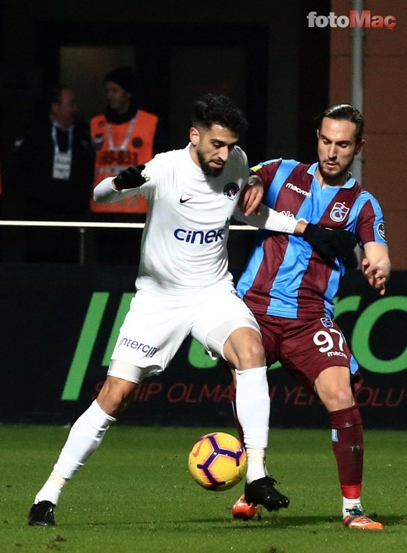 Kasımpaşa - Trabzonspor maçından kareler