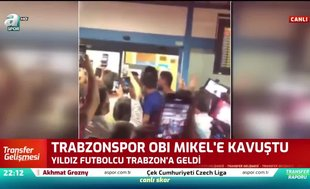 Trabzonspor Obi Mikel'e kavuştu