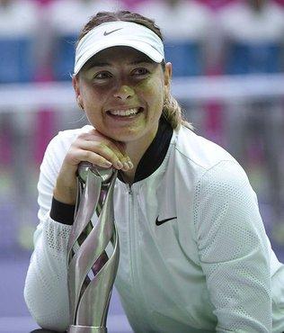 Sharapova, Türk tenisine katkı sağlayacak