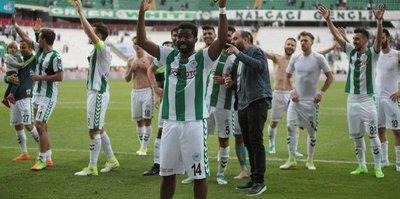 Konyaspor'un hasreti bitti