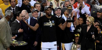 NBA Finalleri'nin MVP'si Kevin Durant