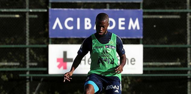 Fenerbahçe'de yeni transfer Enner Valencia antrenmanda! İşte idmandan görüntüler