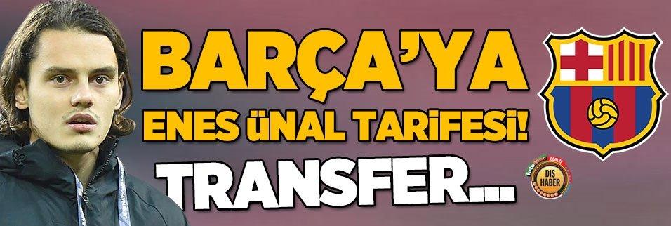 Barça'ya Enes Ünal tarifesi! Transfer...