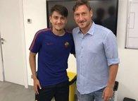 Totti ile De Rossi arasında güldüren Cengiz Ünder diyaloğu