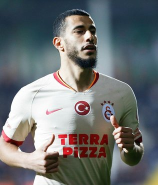 Galatasaray'dan 100. maçına çıkan Belhanda için 250 bin euro ödeme