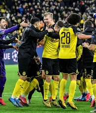 Haaland stuns PSG with two goals in CL