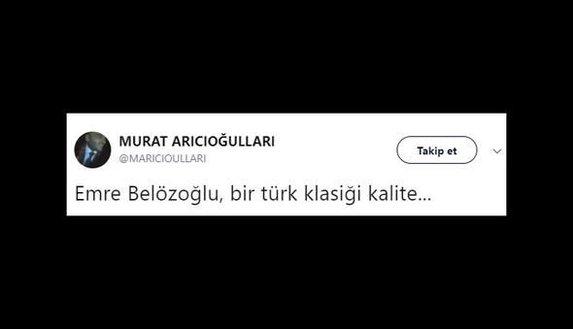 Emre Belözoğlu sosyal medyayı salladı!