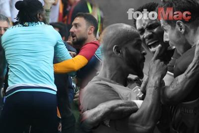Galatasaray - Başakşehir maçından şok görüntü! Dünya bunu konuşuyor...