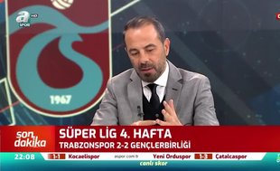 Reha Kapsal: Trabzonspor'un gol yeme sıkıntısı var