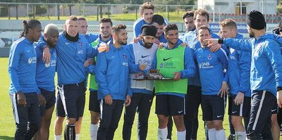 Trabzonspor, Göztepe maçı hazırlıklarını sürdürdü