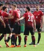 Genç milliler Malta'yı 4-1 mağlup etti