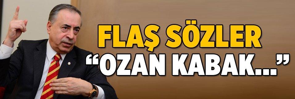 Mustafa Cengiz'den flaş Ozan Kabak açıklaması