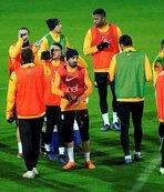Galatasaray Antalya'da çalışmalarını sürdürdü