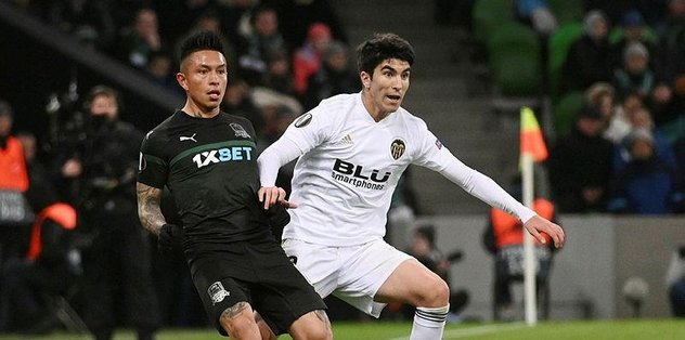 MAÇ SONUCU l Krasnodar 1 - 1 Valencia l ÖZET