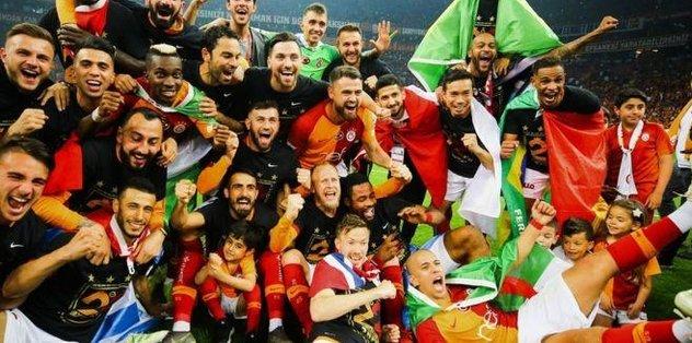 Galatasaray'ın şampiyonluğu Almanya'da kutlandı