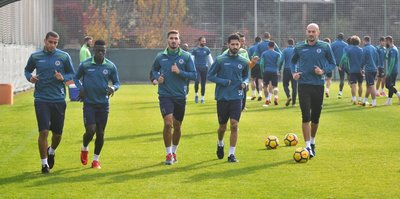 Alanyaspor'da Sivasspor mesaisi başladı