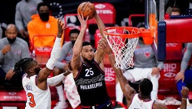 Son dakika spor haberi: Philadelphia 76ers-New York Knicks: 99-96 (MAÇ SONUCU)