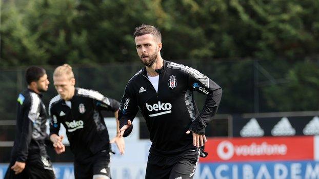 Beşiktaş'a Sporting maçı öncesi Miralem Pjanic müjdesi
