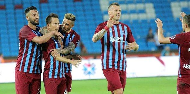 Trabzonspor: 3 - Kardemir Karabükspor: 0 | MAÇ SONUCU