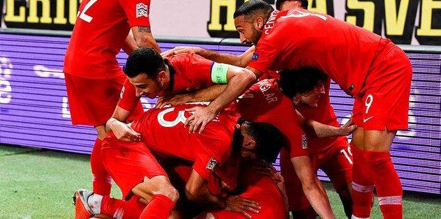 MAÇ SONUCU | İsveç 2-3 Türkiye | GENİŞ ÖZET