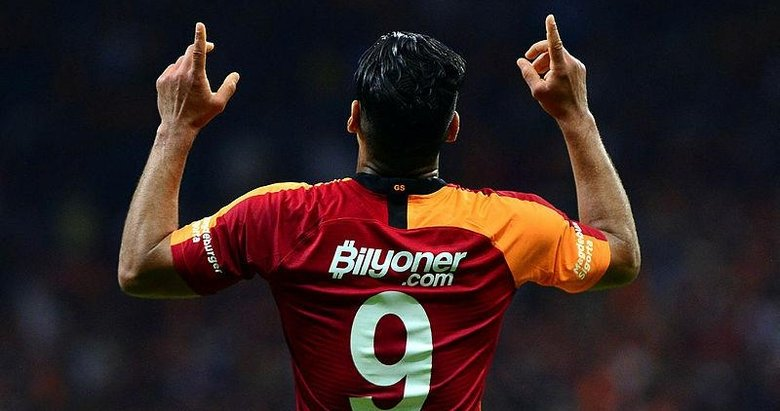 İşte Galatasaray'ın yeni golcüsü Falcao'nun ilk maç karnesi