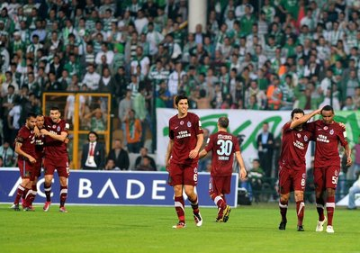 Bursaspor - Trabzonspor Spor Toto Süper Lig 12. hafta maçı