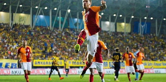 Son şampiyon galibiyetle başladı! Ankaragücü 1-3 Galatasaray maç sonucu