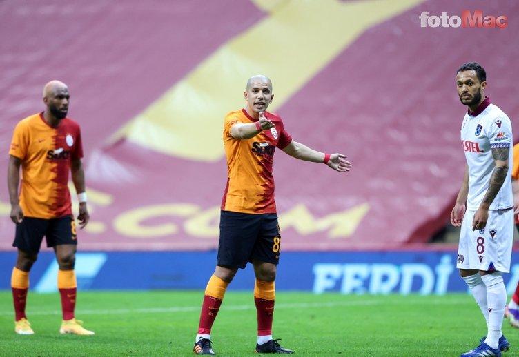 Son dakika Galatasaray transfer haberleri: Feghouli'den Galatasaray'ı şoke eden sözler!
