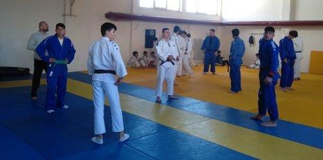 Sivaslı ve Tokatlı judoculardan ortak çalışma