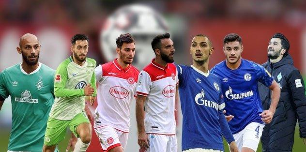 Türk milli futbolcuların Almanya Bundesliga'da şanssız sezonu! - Almanya Bundesliga -