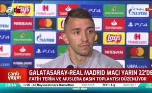 Fernando Muslera: Taraftarlarımız sahayı Real Madrid'e yine cehenneme çevirecektir