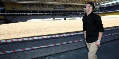 Valbuena, Ülker Stadı'nı gezdi