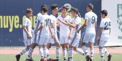 U14'ten gol şov: 5-0