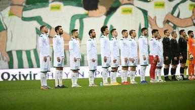 Bursaspor'da 103 maç sonra gelen ilk!