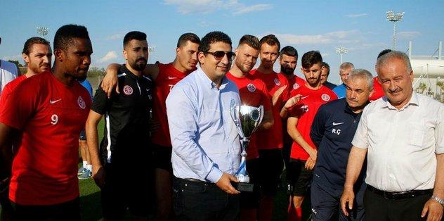 Antalyaspor temsili kupa ile teselli buldu