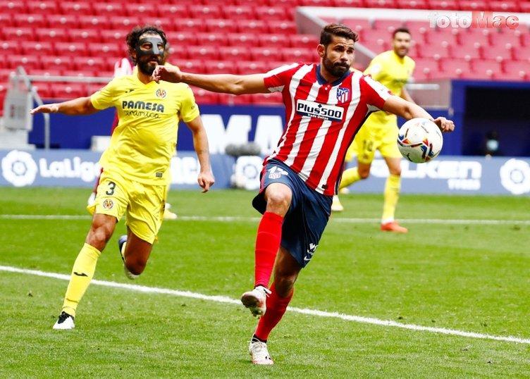 Son dakika spor haberi: Menajeri açıkladı! İşte Diego Costa'ya teklif yapan 2 Süper Lig ekibi