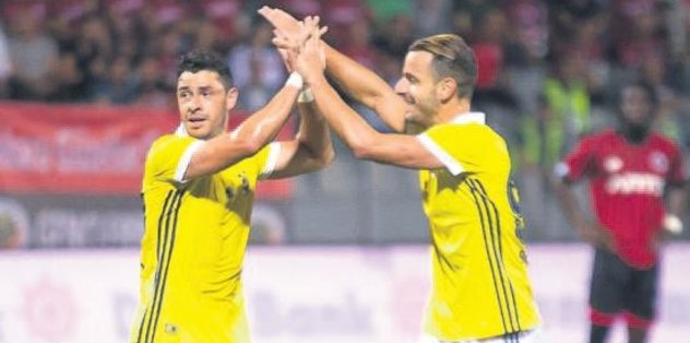 Soldado ve Giuliano uğurlu geldi
