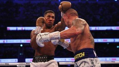 SON DAKİKA SPOR HABERİ - Büyük Britanyalı boksör Joshua unvanlarını kaybetti