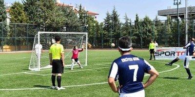 Görme Engelliler Futbol Maçları Isparta'da tamamlandı
