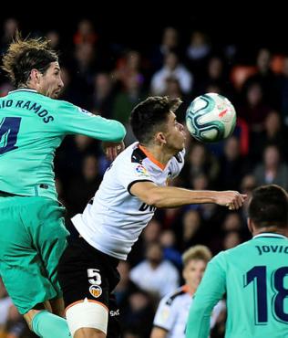 MAÇ SONUCU Valencia 1-1 Real Madrid